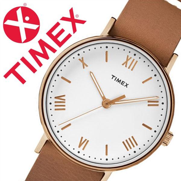 【5年保証対象】タイメックス 腕時計 TIMEX 時計 タイメックス 時計 サウスビュー ノーインディグロ SOUTHVIEW 41MM NO INDIGLO メンズ ホワイト S-TW2R28800 人気 トレンド ブランド カジュアル ファッション シンプル 革 レザー ベルト ライトブラウン 送料無料