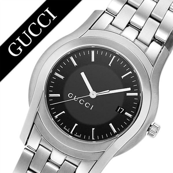 グッチ腕時計 GUCCI時計 GUCCI 腕時計 グッチ 時計 Gクラス G Class メンズ ブラック YA055211 [新作 人気 ブランド 防水 高級 おすすめ ファッション バーゲン プレゼント ギフト メタル シルバー][おしゃれ 腕時計]