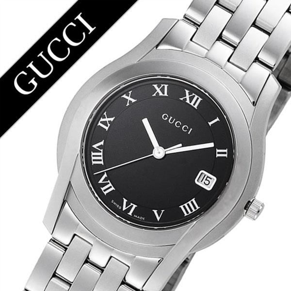 [当日出荷] グッチ 腕時計 GUCCI 時計 グッチ 時計 GUCCI 腕時計 Gクラス G Class メンズ ブラック YA055302 人気 ブランド 防水 高級 プレゼント メタル ベルト シルバー 日付カレンダー