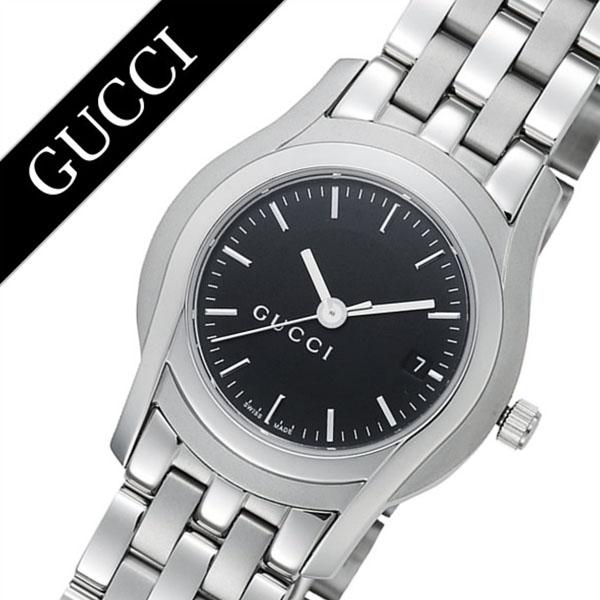 グッチ 腕時計 GUCCI 時計 グッチ 時計 GUCCI 腕時計 Gクラス G Class レディース ブラック YA055518 人気 ブランド 防水 高級 プレゼント ギフト メタル ベルト シルバー 送料無料