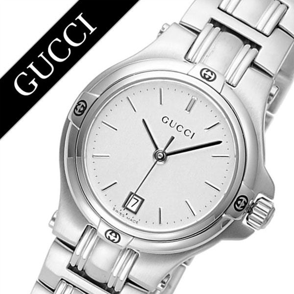 1d4ca05215 グッチ腕時計 GUCCI時計 GUCCI 腕時計 グッチ 時計 9045レディース シルバー YA090520 [新作 人気 ブランド