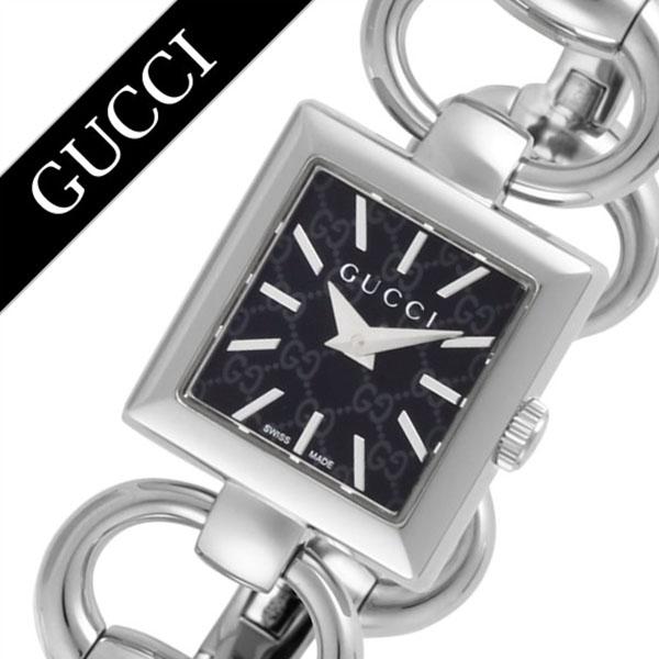 グッチ腕時計 GUCCI時計 GUCCI 腕時計 グッチ 時計 トルナヴォーニレディース ブラック YA120513 [新作 人気 ブランド 防水 高級 おすすめ ファッション バーゲン プレゼント ギフト メタル シルバー][おしゃれ 腕時計]