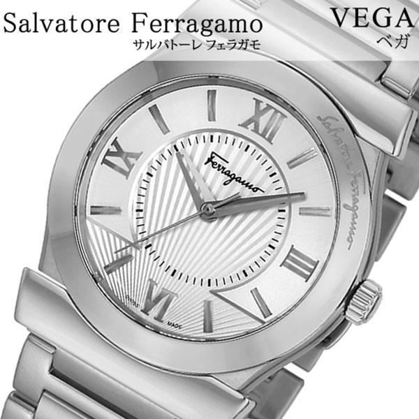 Salvatore Ferragamo 腕時計 サルバトーレフェラガモ 時計 ベガ VEGA メンズ シルバー FI0990014 [腕時計 フェラガモ スイス製 イタリア ギフト バーゲン プレゼント 新作 人気 ブランド ファッション 防水 ステンレス][おしゃれ 腕時計]