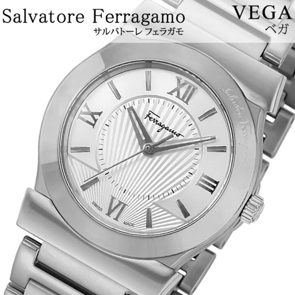 Salvatore Ferragamo 腕時計 サルバトーレフェラガモ 時計 ベガ VEGA レディース シルバー FIQ010016 [腕時計 フェラガモ スイス製 イタリア ギフト バーゲン プレゼント 新作 人気 ブランド ファッション 防水 ステンレス][おしゃれ 腕時計]