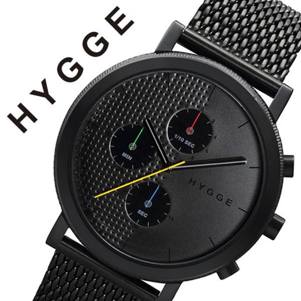 ヒュッゲ 腕時計 HYGGE 時計 ヒュッゲ 時計 HYGGE 腕時計 2204 メンズ レディース ブラック HGE020005 正規品 人気 ブランド 防水 ペアウォッチ ユニセックス デザイナーズウォッチ ファッション ホワイト 父の日 ギフト