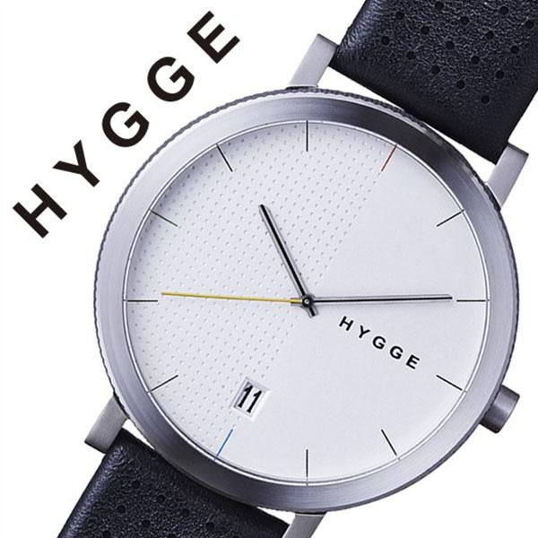 ヒュッゲ 腕時計 HYGGE 時計 ヒュッゲ 時計 HYGGE 腕時計 2203 メンズ レディース ホワイト HGE020065 正規品 人気 ブランド 防水 革 レザー ペアウォッチ ユニセックス デザイナーズウォッチ ファッション ブラック 父の日 ギフト