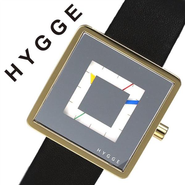 ヒュッゲ 腕時計 HYGGE 時計 ヒュッゲ 時計 HYGGE 腕時計 2089 メンズ レディース ミラー HGE020082 正規品 人気 ブランド 防水 革 レザー ペアウォッチ ユニセックス デザイナーズウォッチ ファッション ブラック 父の日 ギフト