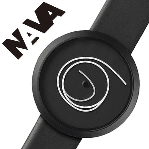 ナバデザイン 腕時計 NAVADESIGN 時計 ナバ デザイン 時計 NAVA DESIGN 腕時計 ナバウォッチ NAVAWATCH ナヴァウォッチ ORA UNICA 36mm メンズ レディース ブラック NVA020010 ナヴァ 人気 ブランド 革 レザー ペアウォッチ デザイナーズウォッチ 父の日 ギフト