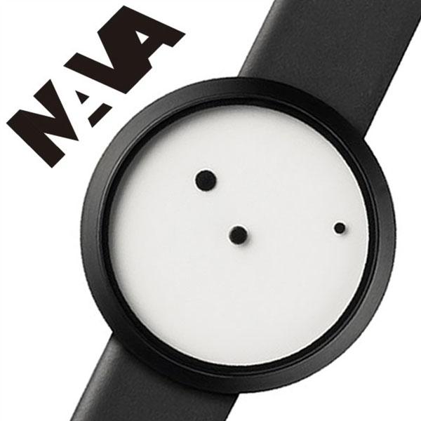 [当日出荷] ナバデザイン 腕時計 NAVADESIGN 時計 ナバ デザイン 時計 NAVA DESIGN 腕時計 ナバウォッチ NAVAWATCH ナヴァウォッチ ORA LATTEA 42mm メンズ レディース ホワイト NVA020011 人気 ブランド 革 レザー ペアウォッチ デザイナーズウォッチ 父の日 ギフト