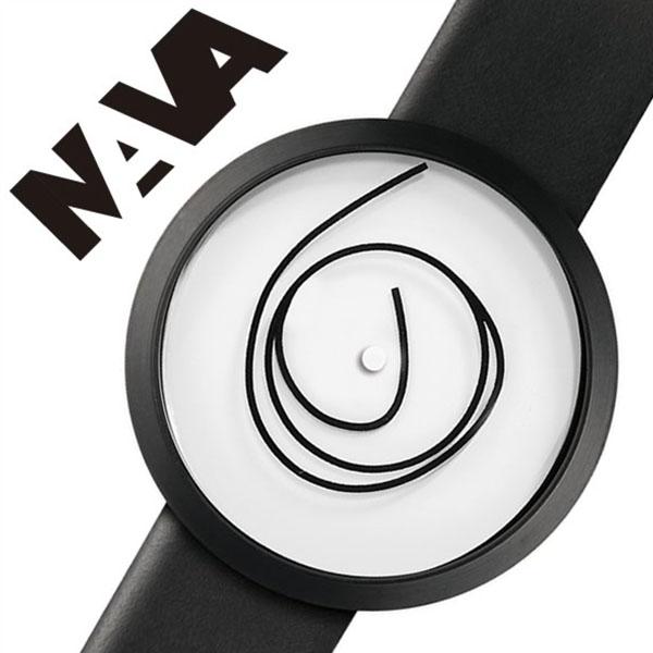 【5年保証対象】ナバデザイン 腕時計 NAVADESIGN 時計 ナバ デザイン 時計 NAVA DESIGN 腕時計 ナバウォッチ NAVAWATCH ナヴァウォッチ ORA UNICA 42mm WHITE メンズ レディース ホワイト NVA020033 人気 ブランド 革 レザー ペアウォッチ デザイナーズウォッチ 送料無料