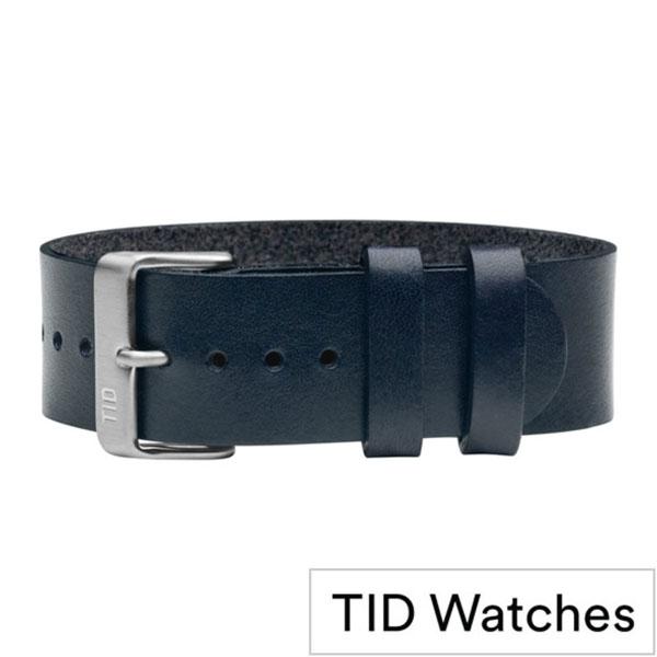 ティッドウォッチズ時計ベルト TIDWatches TID Watches 時計ベルト ティッド ウォッチズ メンズ レディース TID-BELT-SV-NV [正規品 ブランド 替えベルト 付け替え 交換 ベルト 腕時計 革 レザー 北欧][おしゃれ 腕時計]