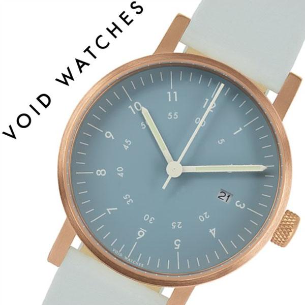 【5年保証対象】ヴォイド 腕時計 VOID 時計 ヴォイド 時計 VOID 腕時計 ボイド メンズ レディース ブルー VID020042 正規品 POS 人気 ブランド ギフト 革 レザー ペアウォッチ ユニセックス デザイナーズウォッチ ファッション グレー 送料無料