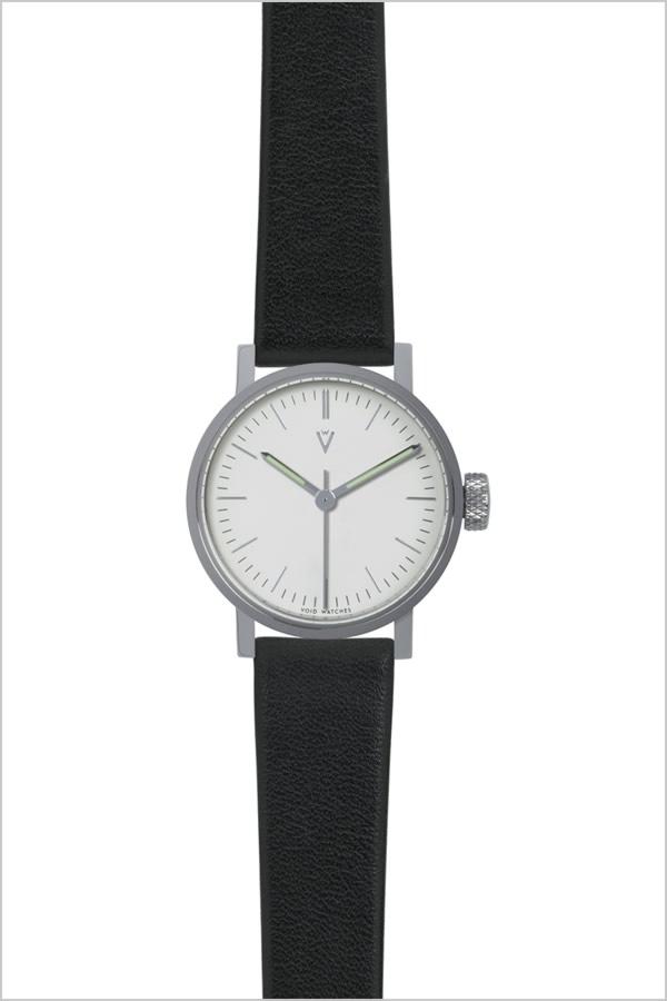 ヴォイド 時計 VOID 腕時計 メンズ レディース ホワイト VID020055[正規品 北欧 ミニマル シンプル 個性的 インテリア 人気 ブランド プレゼント ギフト 革 レザー ペアウォッチ ユニセックス デザイナーウォッチ ファッション コーデ ブラック][]