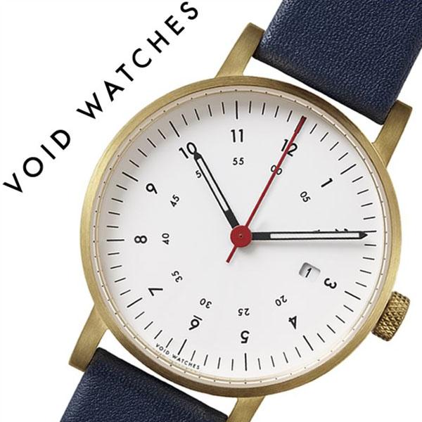 【5年保証対象】ヴォイド 腕時計 VOID 時計 ヴォイド 時計 VOID 腕時計 ボイド メンズ レディース ホワイト VID020068 正規品 POS 人気 ブランド ギフト 革 レザー ペアウォッチ ユニセックス デザイナーズウォッチ ファッション ブルー 送料無料