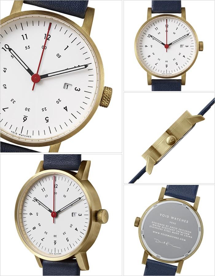 a25d1a4ae5 ブラック メンズ ボイド ペアウォッチ ファッション VOID 時計 正規品 ブランド ユニセックス 人気 POS 腕時計