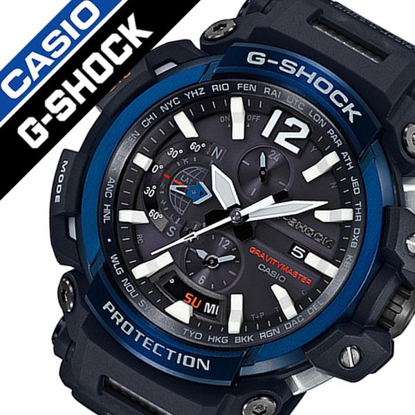 カシオ腕時計 CASIO時計 CASIO 腕時計 カシオ 時計 ジーショック グラビィティマスター G-SHOCK GRAVITYMASTER メンズ ブラック CASIO-GPW-2000-1A2JF [正規品 新作 防水 タフネス タフ ソーラー Gショック][おしゃれ 腕時計]