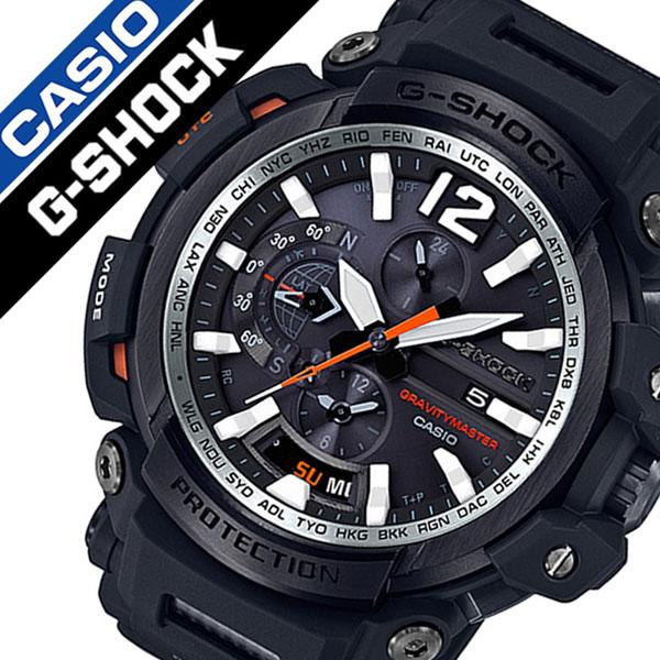 カシオ腕時計 CASIO時計 CASIO 腕時計 カシオ 時計 ジーショック グラビィティマスター G-SHOCK GRAVITYMASTER メンズ ブラック CASIO-GPW-2000-1AJF [正規品 新作 防水 タフネス タフ ソーラー Gショック][おしゃれ 腕時計]