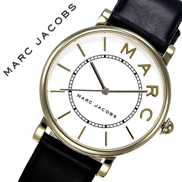 マークジェイコブス 腕時計 MarcJacobs 時計 マーク ジェイコブス 時計 Marc Jacobs 腕時計 ロキシー ROXY レディース ホワイト MJ1532 人気 マークバイマークジェイコブス ブランド シンプル 防水 ペアウォッチ ゴールド ブラック レザー 革