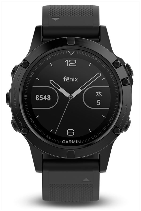 ガーミン腕時計 GARMIN時計 GARMIN 腕時計 ガーミン 時計 フェニックス 5 サファイア fenix 5 Sapphire ユニセックス 液晶 GAR-010-01688-66 [正規品 GPS ラウンド ペアウォッチ ウェアラブル スマートウォッチ ハイスペック 高機能 アウトドア]