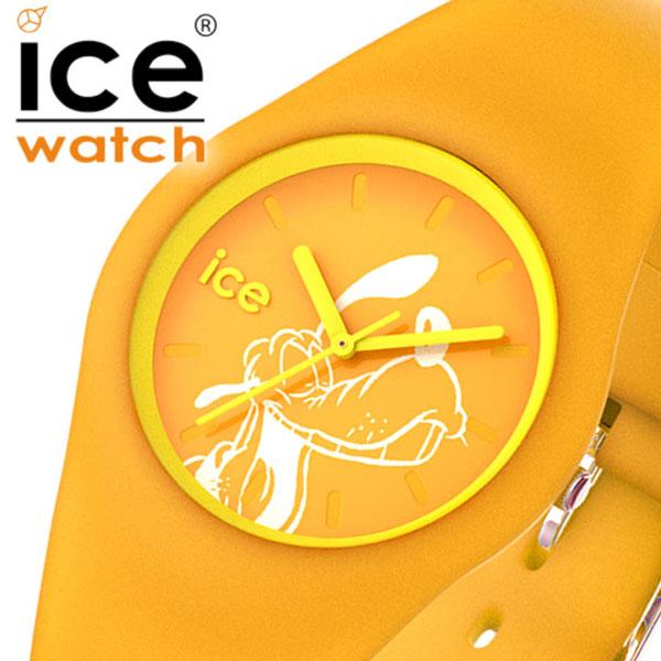 ICE WATCH時計 ICE WATCH 腕時計 アイスウォッチ 時計 ディズニーコレクション シンギング Disney Collection Singing レディース イエロー 014772 [正規品 新作 日本限定 ディズニー バーゲン プレゼント ギフト キッズ かわいい 防水 ラウンド おしゃれ プルート]