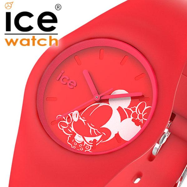 ICE WATCH時計 ICE WATCH 腕時計 アイスウォッチ 時計 ディズニーコレクション シンギング Disney Collection Singing レディース レッド 014773 [正規品 新作 日本限定 ディズニー バーゲン プレゼント ギフト キッズ かわいい 防水 ラウンド おしゃれ ミニー]