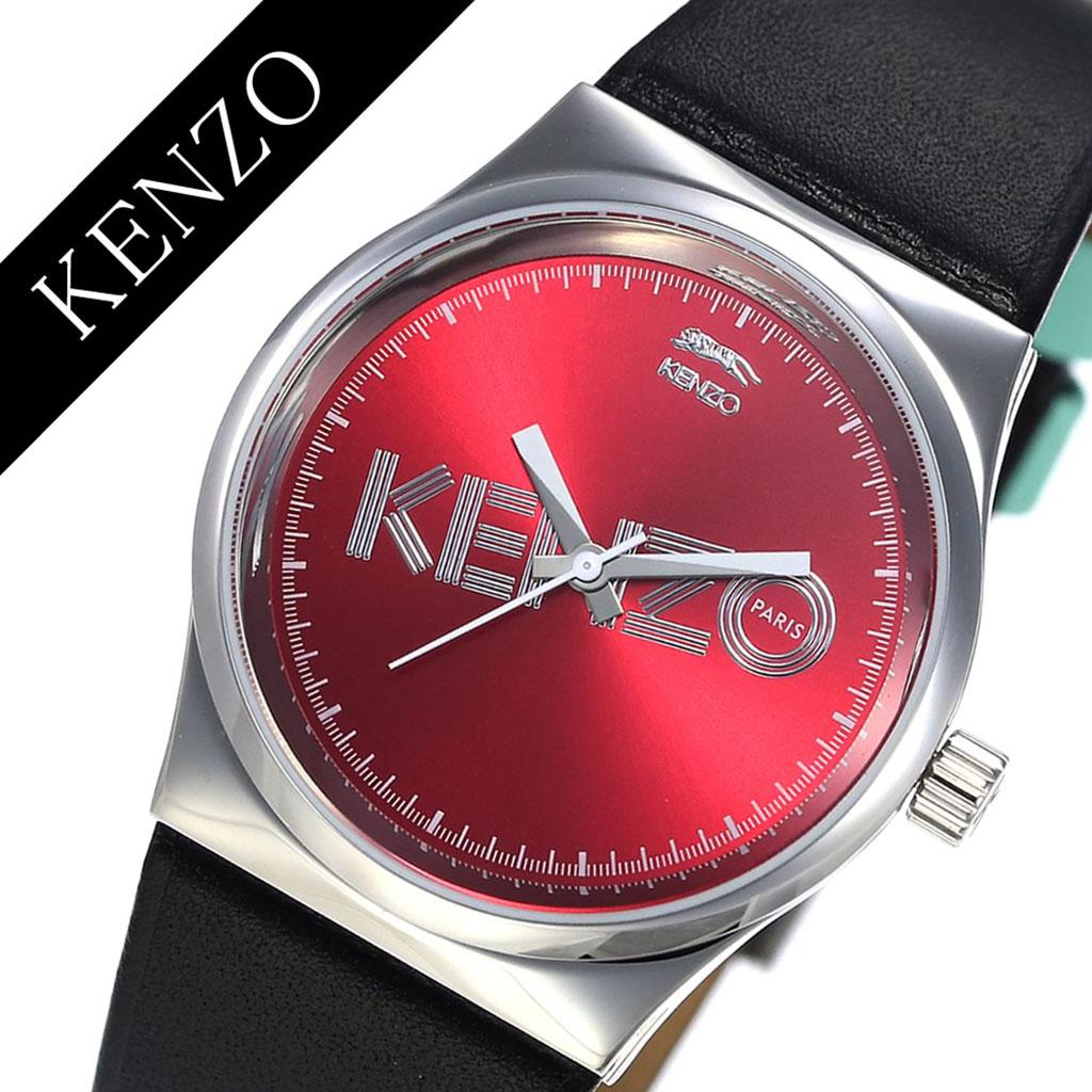 c9f9e2485 Kenzo watch KENZO clock KENZO watch Kenzo clock Dix-Huit unisex red 9600304  [popular ...