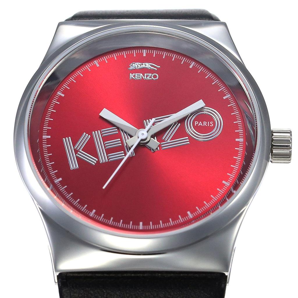 903d2586f ... Kenzo watch KENZO clock KENZO watch Kenzo clock Dix-Huit unisex red  9600304 [popular ...