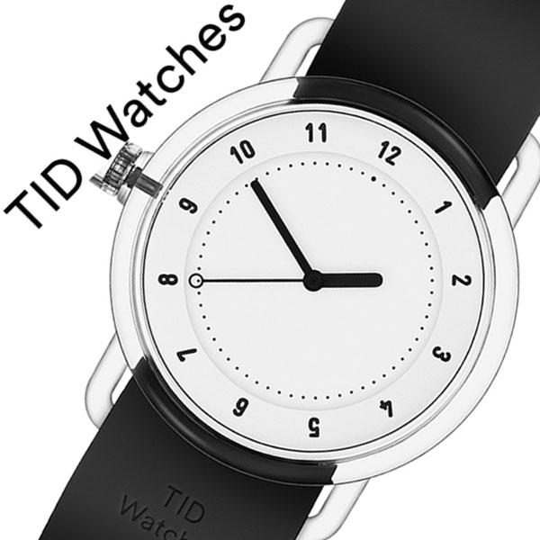 【5年保証対象】ティッドウォッチズ 腕時計 TIDwatches 時計 ティッド ウォッチズ 時計 TID watches 腕時計 ナンバースリー NO3 メンズ レディース ホワイト TID03-38WH 正規品 人気 クリア ラバー ティッドウォッチシンプル ブラック おしゃれ カスタム 送料無料