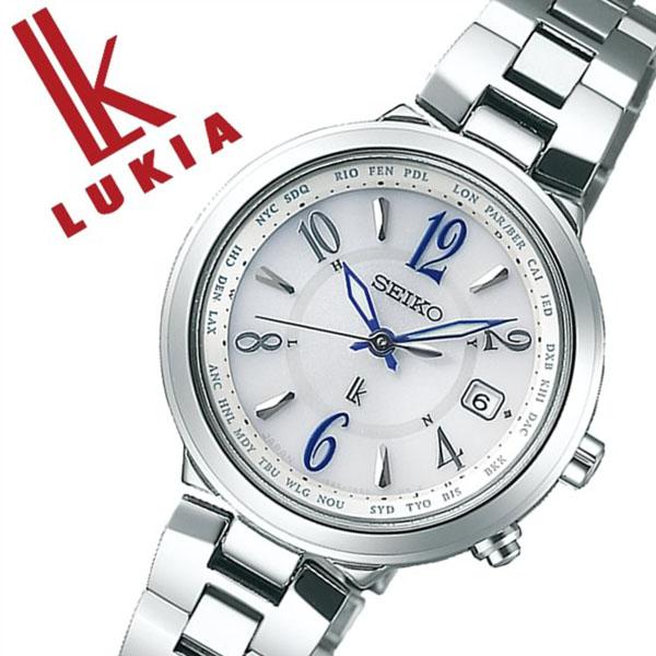 【5年保証対象】セイコー 腕時計 SEIKO 時計 セイコー 時計 SEIKO 腕時計 ルキア LUKIA レディース ホワイト SSVV033 人気 ブランド プレゼント ギフト 防水 ソーラー 電波 時計 メタル かわいい