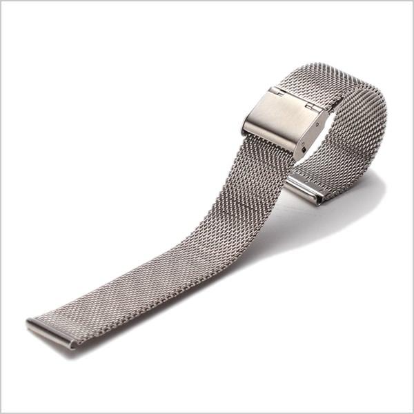 メタルメッシュベルト 時計ベルト MetalMesh Belt メタル メッシュベルト Metal Mesh Belt 時計ベルト メンズ レディース ユニセックス BT-MMS-SV-16 腕時計 時計用 ストラップ バンド 替えベルト 交換ベルト ベルト メタル ベルト メッシュ ミラネーゼ 16mm