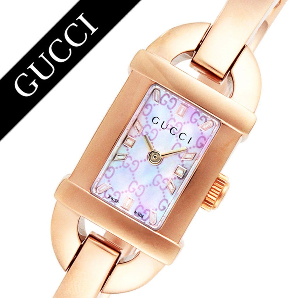 0afe3aa5fe9 Gucci watch GUCCI clock Gucci clock GUCCI watch bamboo BAMBOO Lady s pink  YA068583 new work popularity brand waterproofing high quality recommended  fashion ...
