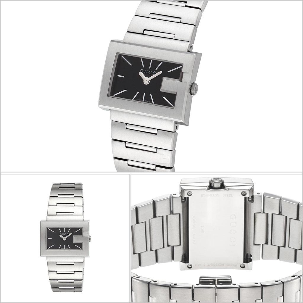 グッチ腕時計 GUCCI時計 GUCCI 腕時計 グッチ 時計 Gレクタングル G-RECTANGLE レディース ブラック YA100519 [新作 人気 ブランド 防水 高級 おすすめ ファッション バーゲン プレゼント ギフト メタル]