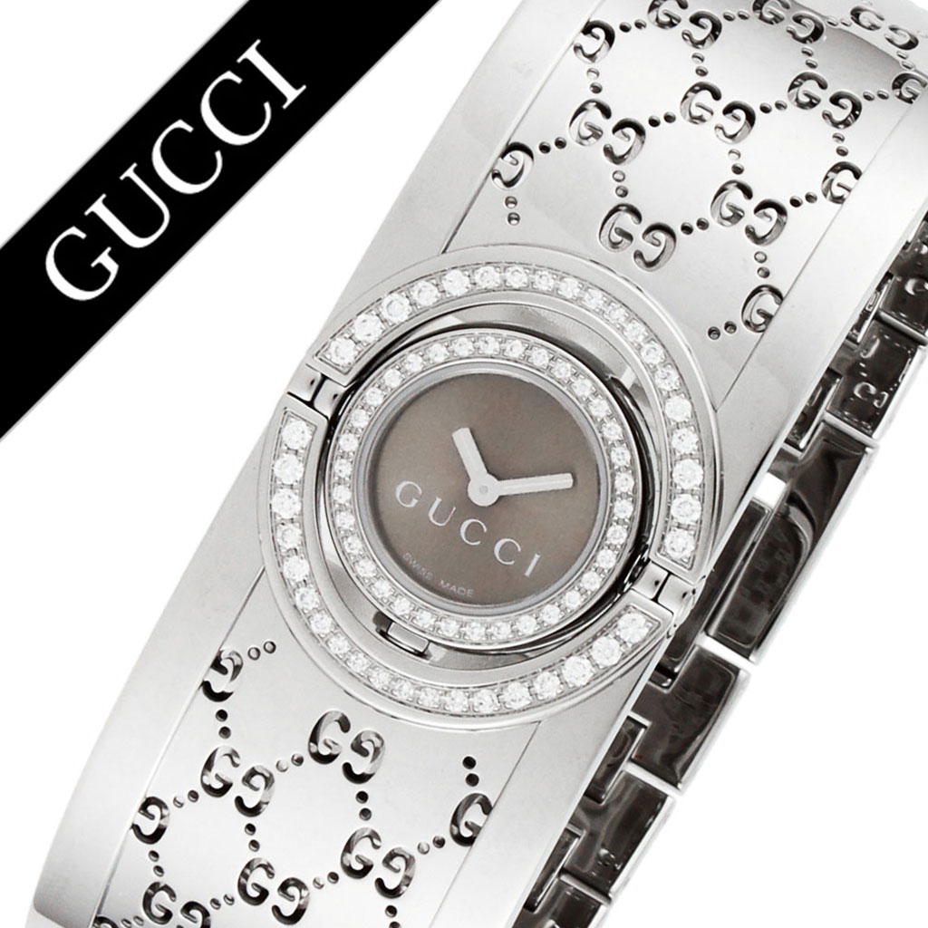 03ea15f8cda Gucci watch GUCCI clock Gucci clock GUCCI watch toile TWIRL Lady s gold  YA112504 new work popularity brand waterproofing high quality recommended  fashion ...