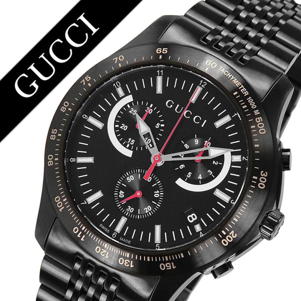 グッチ腕時計 GUCCI時計 GUCCI 腕時計 グッチ 時計 Gタイムレス G-TIMELESS メンズ ブラック YA126258 [新作 人気 ブランド 防水 高級 おすすめ ファッション バーゲン プレゼント ギフト メタル]