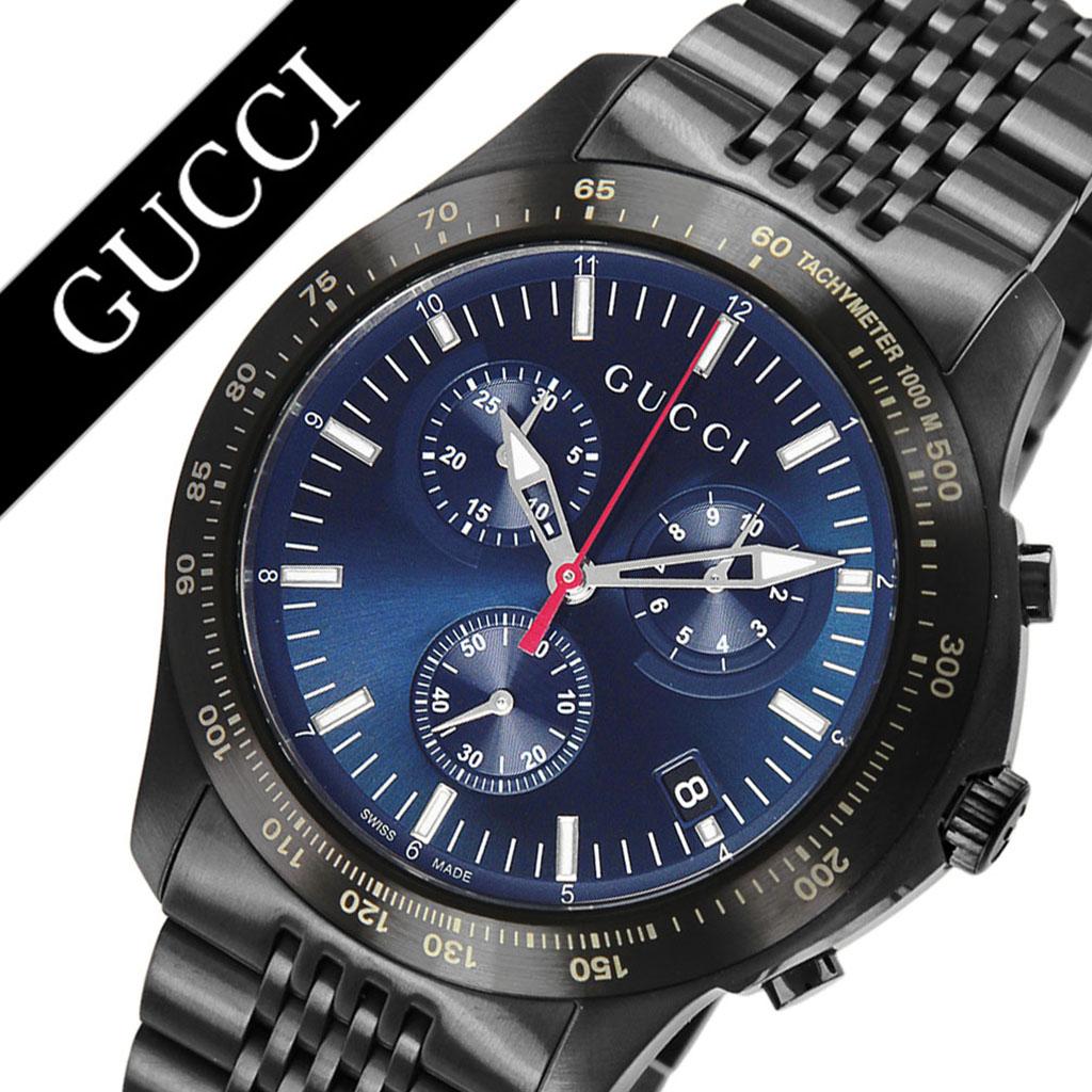 グッチ 腕時計 GUCCI 時計 グッチ 時計 GUCCI 腕時計 Gタイムレス G-TIMELESS メンズ ブルー YA126259 新作 人気 ブランド 防水 高級 おすすめ ファッション プレゼント ギフト メタル 送料無料