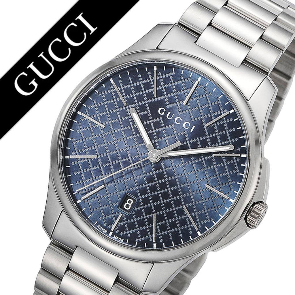 グッチ腕時計 GUCCI時計 GUCCI 腕時計 グッチ 時計 Gタイムレス G-TIMELESS メンズ ブルー YA126316 [新作 人気 ブランド 防水 高級 おすすめ ファッション バーゲン プレゼント ギフト メタル]