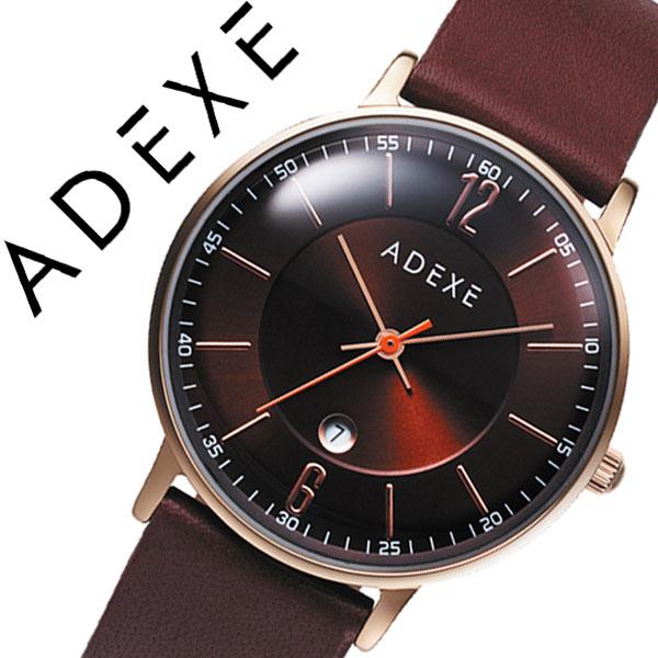 アデクス腕時計 ADEXE時計 ADEXE 腕時計 アデクス 時計 プチ PETITE レディース ダークブラウン 2043B-01 [ギフト バーゲン プレゼント 新春初売][人気 話題][おしゃれ シンプル 腕時計]