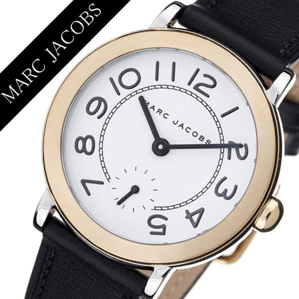 マークジェイコブス腕時計 MarcJacobs時計 Marc Jacobs 腕時計 マーク ジェイコブス 時計 ライリー RILEY レディース ホワイト MJ1514 [ アナログ 人気 ブランド 革 レザー ベルト マークバイ MARC BY MARC ギフト プレゼント ]