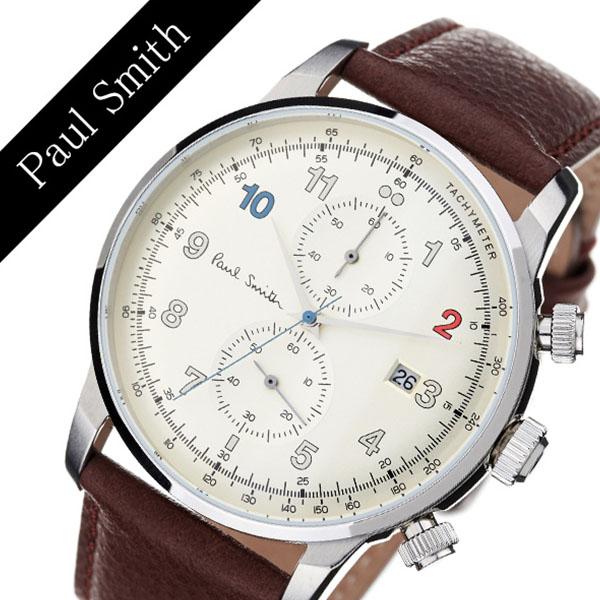 ポールスミス 腕時計 Paulsmith 時計 ポール スミス 時計 Paul smith 腕時計 ブロック BLOCK メンズ ホワイト P10141 [ 人気 トレンド ブランド レザー 革 カジュアル ビジネス シンプル プレゼント ギフト 送料無料 ]