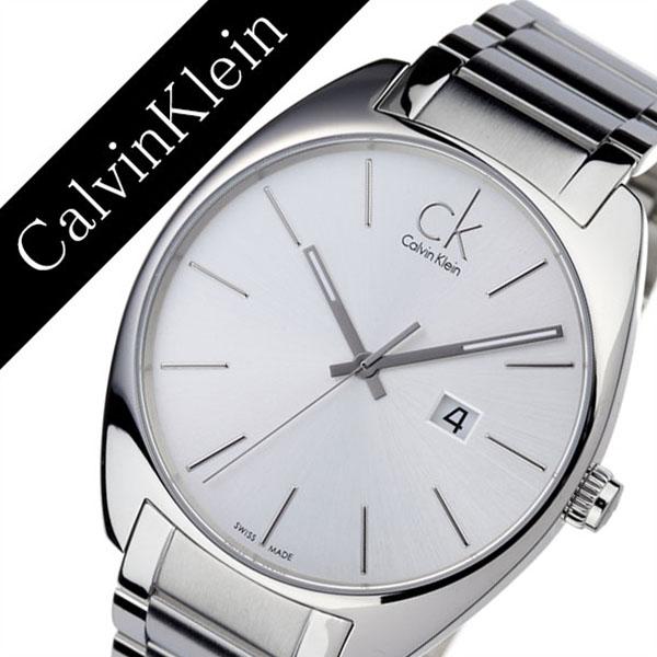 Calvin Klein Watch Calvinklein Clock Exchange Men Silver K2f21126 Og Metal Ck Sea Kay Fashion Pair