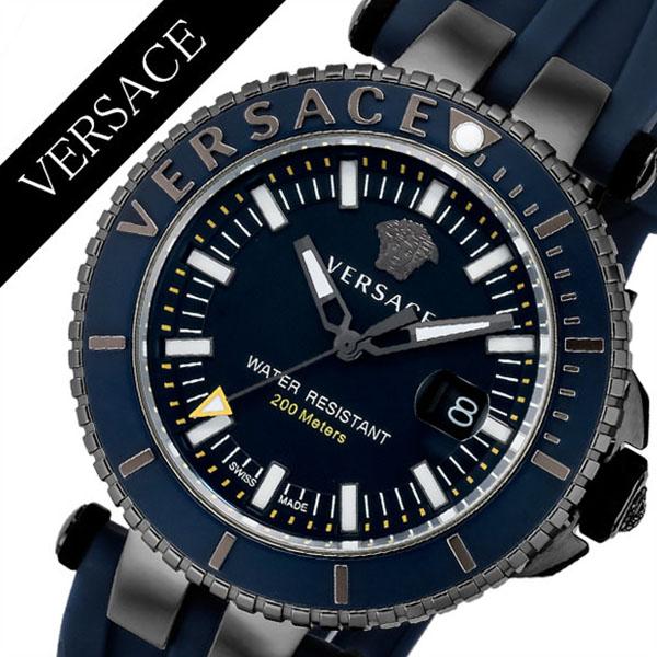 ヴェルサーチ腕時計 VERSACE時計 VERSACE 腕時計 ヴェルサーチ 時計 V-レーススポーツ V-RACESPORT メンズ ブルー VAK020016 [ スイス製 イタリア 防水 ギフト プレゼント 人気 ブランド ファッション おしゃれ ]