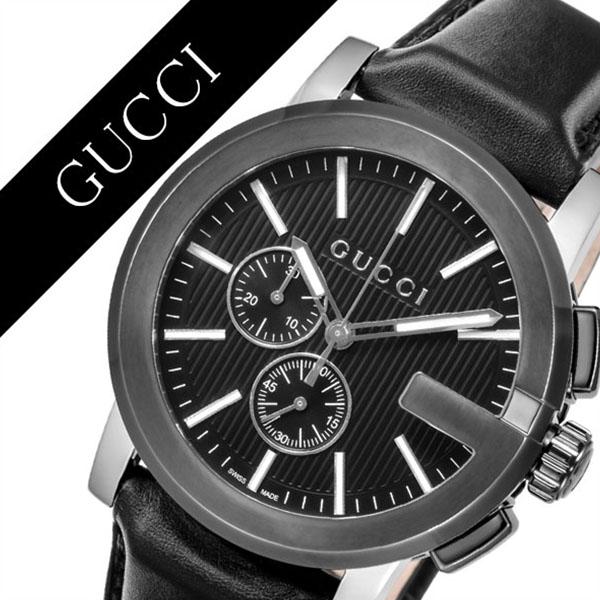 c0cacbc7433 Gucci watch GUCCI clock Gucci clock GUCCI watch G Kurono G-CHRONO men    black YA101205  brand high quality chronograph leather leather  waterproofing ...