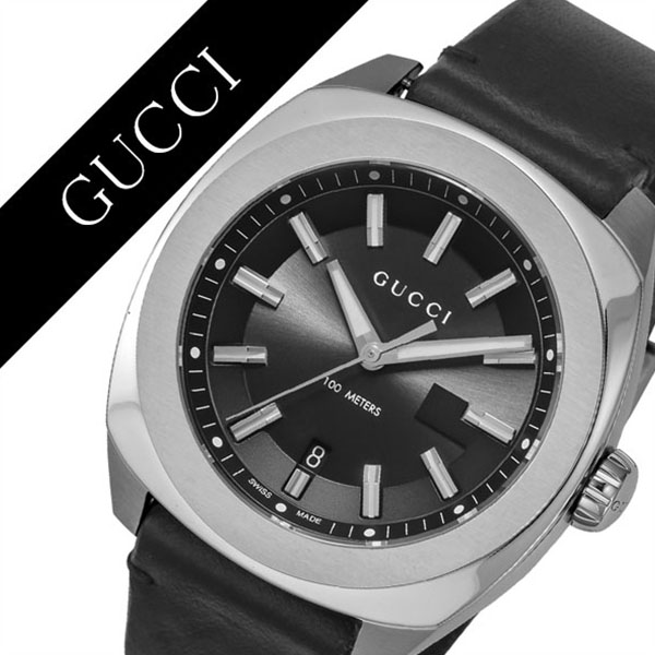 cc936255882 Gucci watch GUCCI clock Gucci clock GUCCI watch GG2570 men   black YA142206   brand high quality leather leather waterproofing recommended fashion  present ...