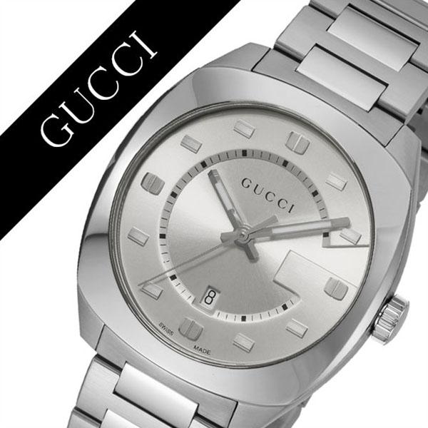 [当日出荷] グッチ 腕時計 GUCCI 時計 グッチ 時計 GUCCI 腕時計 GG2570 メンズ/シルバー YA142308 人気 イタリア ブランド 高級 メタル 防水 おすすめ ファッション プレゼント ギフト 送料無料