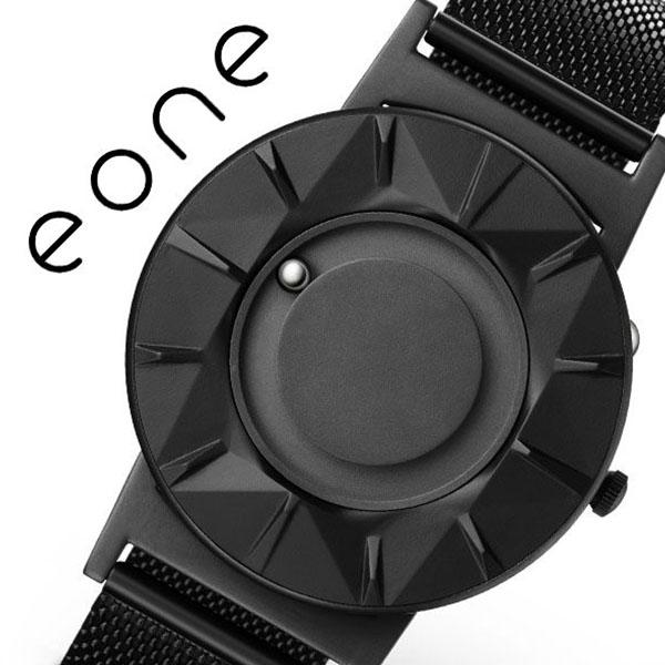 イーワン 腕時計 EONE 時計 イーワン時計 EONE腕時計 ブラッドリー エレメント BRADLEY ELEMENT メンズ レディース ブラック BR-CE-B [ デザインウォッチ ファッション タッチ ラウンド シンプル カジュアル ステンレス メタルバンド プレゼント ギフト ][送料無料]