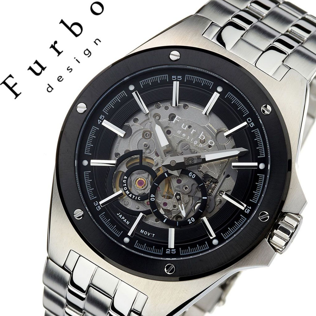 139166d365 フルボデザイン watch Furbodesign clock フルボデザイン clock Furbo design watch men black  F2501BKSS [brand ...
