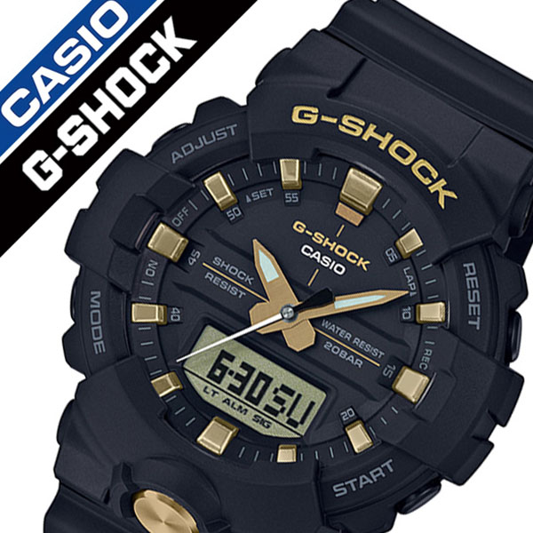 G shock black and gold G-SHOCK BLACK GOLD men black GA-810B-1A9JF  brand  waterproofing アウトドアランニングスポーツアナデジストップウォッチ firm Takeo ... da66ef57e36