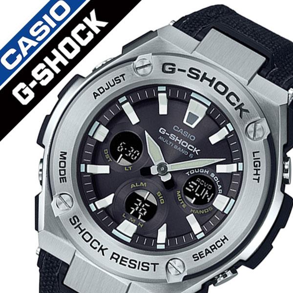 Casio Watch Casio Clock Casio Clock Casio Watch ジーショックジースチール G Shock G Steel Men Black Gst W330c 1ajf Firm Brand
