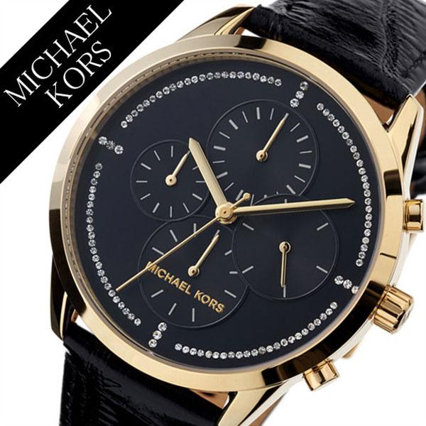 [当日出荷] マイケルコース 腕時計 MichaelKors 時計 マイケル コース 時計 Michael Kors 腕時計 スレーター Slater レディース ブラック MK2686 [ブランド 人気 トレンド MK 防水 可愛い イエローゴールド ブラック ステンレス クロノグラフ ギフト プレゼント][送料無料]
