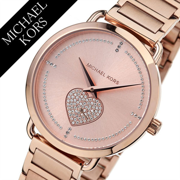 fc3a744fdefb Michael Kors watch MichaelKors clock Michael Kors clock Michael Kors watch  Portia PORTIA Lady s Rose gold MK3827  brand popularity trend MK  waterproofing ...
